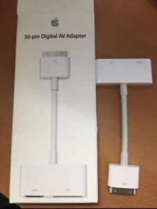 20$ Adapteur Apple Hdmi 30 pin iphone ipad