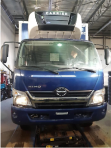 2016 HINO 195 WITH CARRIER 650 REEFER