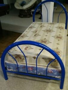 "Twin size bed, 34"" x 79"" (NEAR NEW CONDITION)"