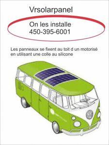 Panneaux solaire, panneau FLEXIBLE,300 a 500 watts,  bateau , Vr