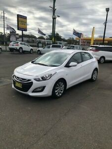 2014 Hyundai i30 GD MY14 Active White 6 Speed Automatic Hatchback North Richmond Hawkesbury Area Preview