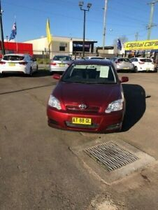 2005 Toyota Corolla ZZE122R Ascent Seca Burgundy 4 Speed Automatic Hatchback North Richmond Hawkesbury Area Preview