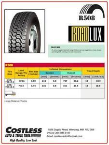 245-70-R19.5 brand new roadlux 16ply drive tire