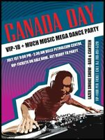 VIP 18+ MUCH MUSIC MEGA DANCE PARTY..