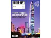 Blueprint Magazines x 7. Architect