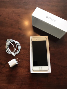 * Nice -  iPhone 6 - 16gb - Silver - ROGERS -  $380 O.B.O