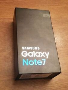 SAMSUNG GALAXY NOTE 7 SILVER TITANIUM SEALED (Reciept Included)