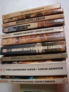 30 Louis L'amour westerns