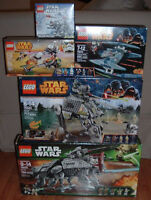 Lego Star Wars 5 sets Neufs et scellés At-te At-at At-tp Walker