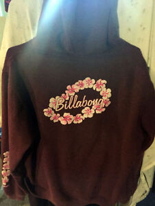 Billabong hoodie  Sized Medium, Maroon  Purchased from PacSun