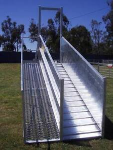 Atlex 3.6m Height Adjustable Permanent (Flat Pack) Sheep Loading Port Augusta Port Augusta City Preview