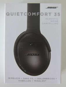 BOSE QuietComfort 35 BLACK QC35 Brand NEW Quiet Comfort
