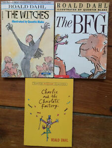 ROALD DAHL BOOKS 3 for $10