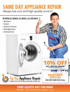 Same Day, Home Appliance Repair and Service