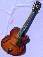 Landscape Archtop Guitar AR-101 - All Solid Wood - Hand Built