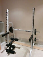 ParaBody Multi Press Squat Rack / Power Half Rack / Gun Rack