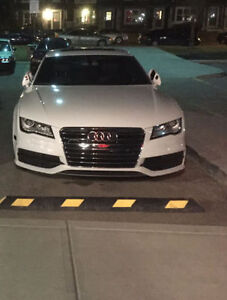 AUDI A7 S-LINE WHITE ON BLACK WARRANTY FINANCING AVAILABLE