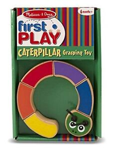 Brand New - Melissa & Doug First Play Caterpillar Grasping Toy