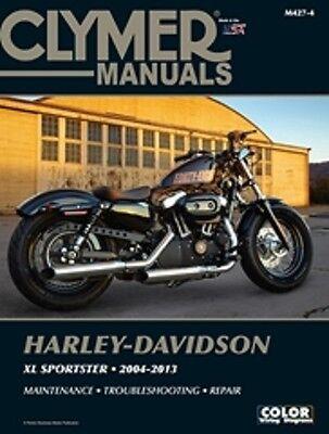 Harley Davidson Sportster 48 Iron 883 1200  2004-2013 Clymer Manual M4274
