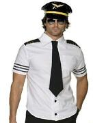 Mens Pilot Fancy Dress