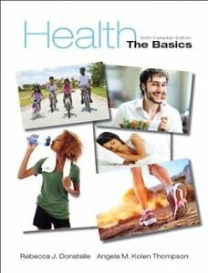 Brock Textbook: Health The Basics with MyHealthLab [HLSC 1F90]
