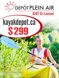Kayaks, Canots, Stand up Paddle boards, Planche de surf a pagaie