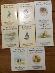 BEATRIX POTTER - 8 book set $10