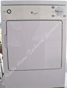 GE Portable Compact 110 Volt Dryer, 1 year warranty