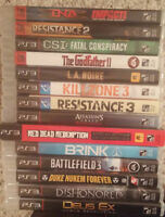 Sony Playstation 3 games PS3 games