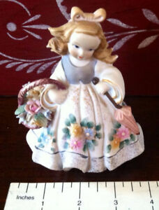 Vintage Lefton China Girl Figurine.