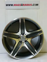 "MAG REPLIQUE MERCEDEZ ML 21""5X112 GUNMETAL/MACHINER"
