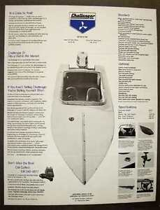 Wanted - 21ft Challenger (George Linder Design) Boat