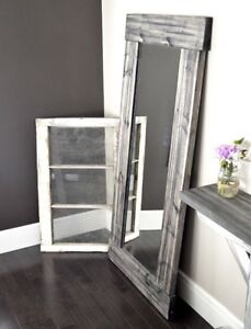 Brand New a Rustic Framed Mirror, Several Sizes Available