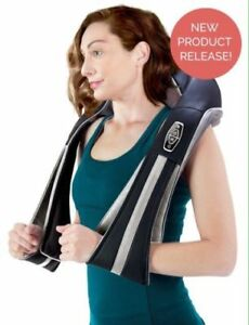 InstaShiatsu  Neck and Back Massager with Heat IS-3000 PRO -New