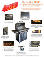 Brand New Barbecues Jackson Grills - Stainless Steel- Clear Out