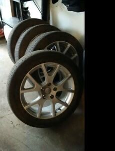 Dodge Journey Crew - Rims and Tires (4X) 225/55 R19 M+S used-OBO