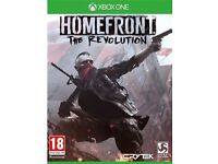 Homefront: The Revolution XBOX ONE Boxed Like New