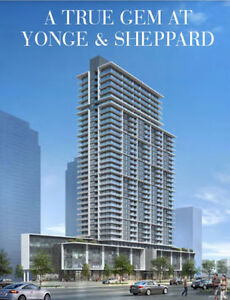New Condos For Sale in NORTH YORK ★ 1 BR from $300s + CASHBACK