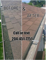 Eaves Cleaning/Repair & Tree  Service call / text 204-451-7751