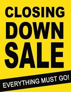 store closing sale 1000 island mall everything 50 % 0ff
