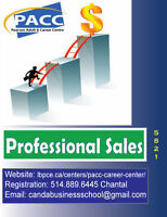 "FREE ""professional sales"" training with financial aid ! WOW"