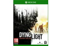 Dying light on xbox one in good condition
