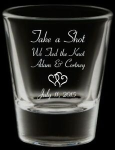 Shot Glasses For Your Wedding London Ontario image 2