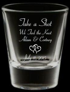 Printed Shot Glasses For Your Wedding Sarnia Sarnia Area image 3