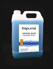5 Litres Crystal Blue Glass cleaner from Espuma