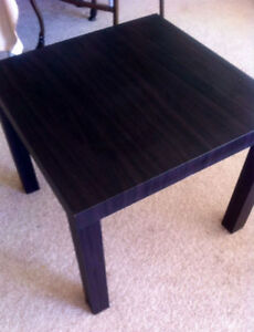 IKEA brown coffee table & folding table- Moving Out Sale