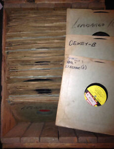 "Nice lot of  1940's and 1950's LP's  10"" 78 rpm, welk,Lombardo"