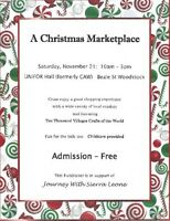 A Christmas Marketplace Bizarre - Woodstock!
