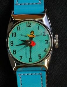 BALLERINA MOVEABLE WATCH