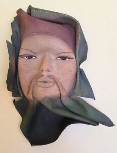 Asian / Chinese Gibson hand-crafted leather mask